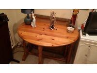 Solid Wood Drop Leaf Table