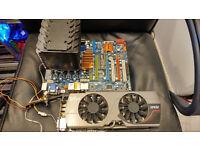 MB, Graphics card, processor + ram
