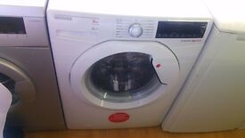 HOOVER 8KG WASHING MACHINE new ex display which may have minor marks or blemishes.