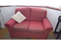 Two Seater M&S High Back Sofa - Free to Collector