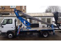 Oil & Steel 18/12 truckmount - Cherrypicker