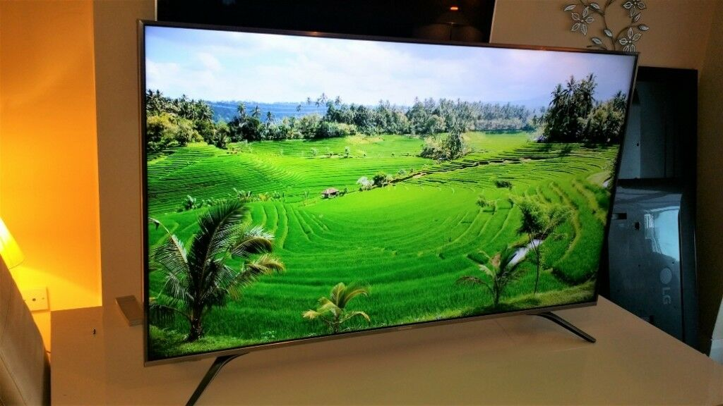 Hisense 55A6500 LED HDR 4K Ultra HD Smart TV, 55 Inch with Freeview Play,  Black/Silver | in Derby, Derbyshire | Gumtree