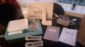 Wii and various accessories