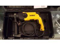 Dewalt hammer drill 240v