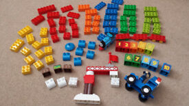 Genuine Lego Duplo, 2 sets. Thomas train with numbers & crane and building blocks