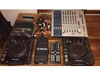 Complete DJing Setup
