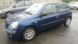 1.2 CLIO 79000 MILES MANUAL MOT 7/11/17 HISTORY 3 MONTHS WARRANTY 1 DAY DRIVE AWAY INSURANCE