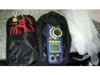 brand Elma 945 True RMS Clamp Meter with case and extras. tools, plumming, electrician PRICE DROP!!