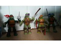 4 x 30cm teenage mutant ninja turtles