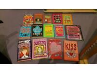 14 Jacqueline Wilson books
