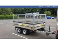 Trailer 8x5 indespension manual tipper trailer