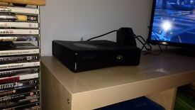Xbox 360 black with 40 games
