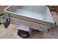 Noval metal car trailer 4x3