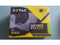 Zotac Geforce GTX 1070 8GB Mini Graphics Card Brand New In Box