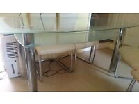 GLASS Dining Tables & Chairs