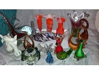 large collection of murano glass