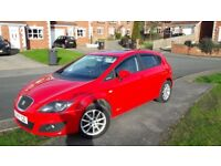 Fantastic seat leon with factory fitted FR leather heated seats