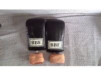 BBE punch bag gloves and wraps