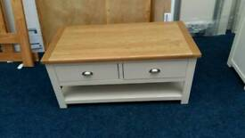 £115 - Kent two tone coffee table - new and unused - delivery available