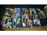 AVAILABLE IF LISTED. JOBLOT. 74 COMICS. New Sleeves. Runs. JON SABLE, MS TREE etc. PICS and LIST