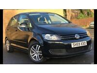 Low Mileage Volkswagen Golf Plus 1.4