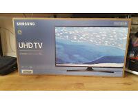 "Samsung 40"" 4K wifi enabled TV"