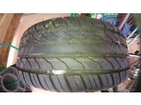 Fiesta wheel and tyre