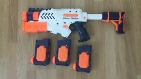 3 Different NERF guns