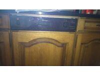 Electrolux Dishwasher ESI 600 Semi Integrated.