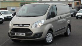 2015 FORD TRANSIT 290 CUSTOM TREND EDITION 125 BHP. STUNNING VAN THROUGHOUT. ONLY 28000 MILES.