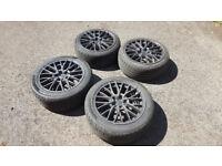 """18"""" Alloy rims ENKEI and tyres"""