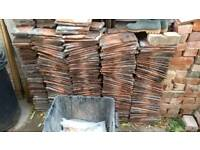Approximately 800 used roof tiles available