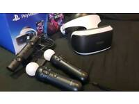 Playstation 4 VR - Accessories Included!