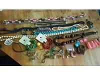 Job lot of fashion jewellery