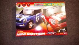 Micro Scalextric BMW mini Cooper