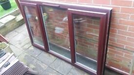 uPVC Double Glazed 3 Casement Window Unit