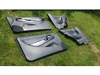 Set Of 2002 Mk3 Seat Ibiza Cupra Leather Doorcards