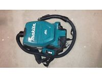 Makita DVC260 36v Cordless LXT Backpack Vacuum Cleaner No Batteries