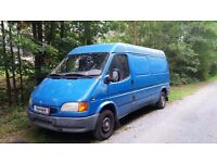 LHD - FORD TRANSIT 2.5 DIESEL - LONG WHEEL BASE - LEFT HAND DRIVE - EXPORT