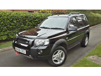 2006 LAND ROVER FREELANDER 2.0 HSE TD HIGH SPEC!!SAT-NAV,FULL LEATHER,4X4,VERY GOOD COND.