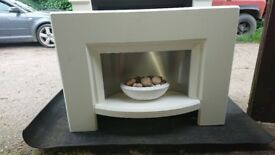 Various Ex display electric fireplaces for sale