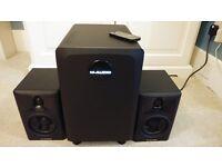 M-Audio AV32.1 powered speakers (2.1)