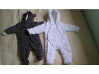 Baby winter sleeping suit