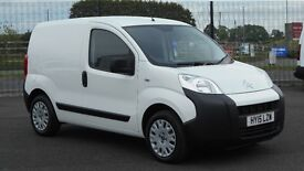 2015 CITROEN NEMO HDI ENTERPRISE. AIRCON. BLUETOOTH. PARKING SENSORS. 1 LADY OWNER AND 15000 MILES.