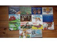 14 vintage Brooke Bond tea collector books: complete