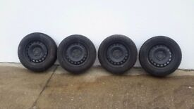 4 GOODYEAR winter tyres
