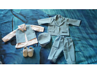 Baby boy's christening outfit