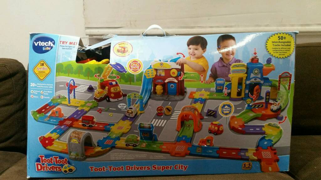 Toot toot drivers super city