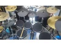 Alesis DM10 mesh head drum kit with cymbals