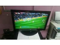 "LG WIDESCREEN HD LCD 37"" TV, MODEL: 37LG3000, HDMI, FREEVIEW BUILT IN, STAND + REMOTE FULLY WORKING"